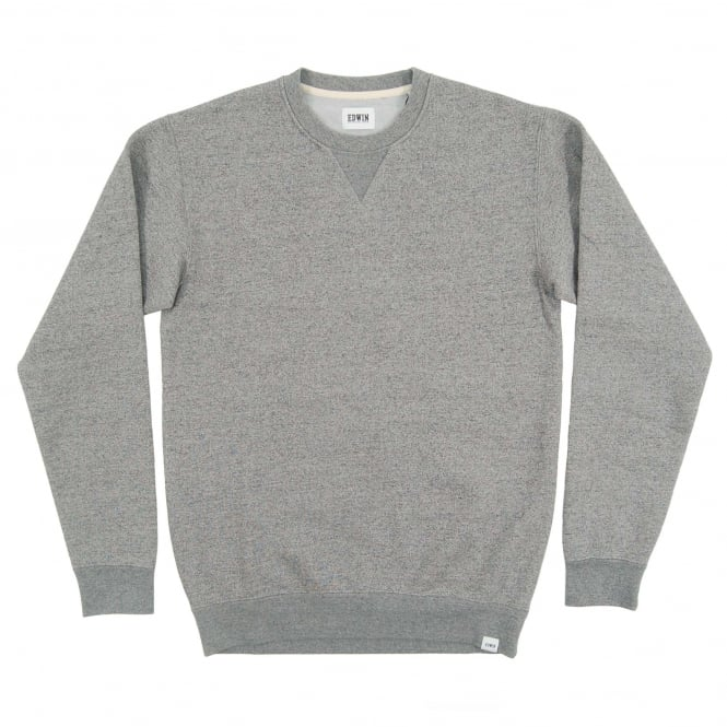 Edwin Classic Crew Sweat Mouline Grey