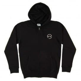 Classic Hooded Jacket Logo 2 Black
