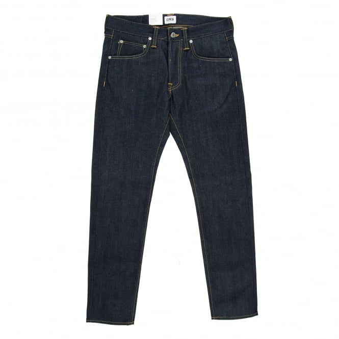 Edwin ED-55 Jeans 63 Rainbow Selvedge Unwashed 12.8oz