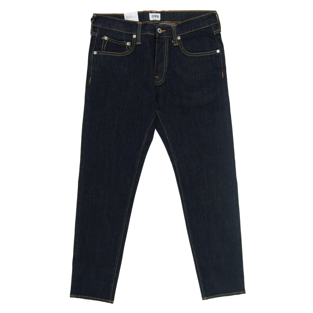 abd374fb Edwin ED-55 Jeans CS Red Selvedge Rinsed 10.5oz - Mens Clothing from ...