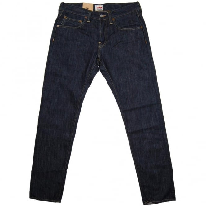 Edwin ED-55 Jeans Dark Blue Rinsed