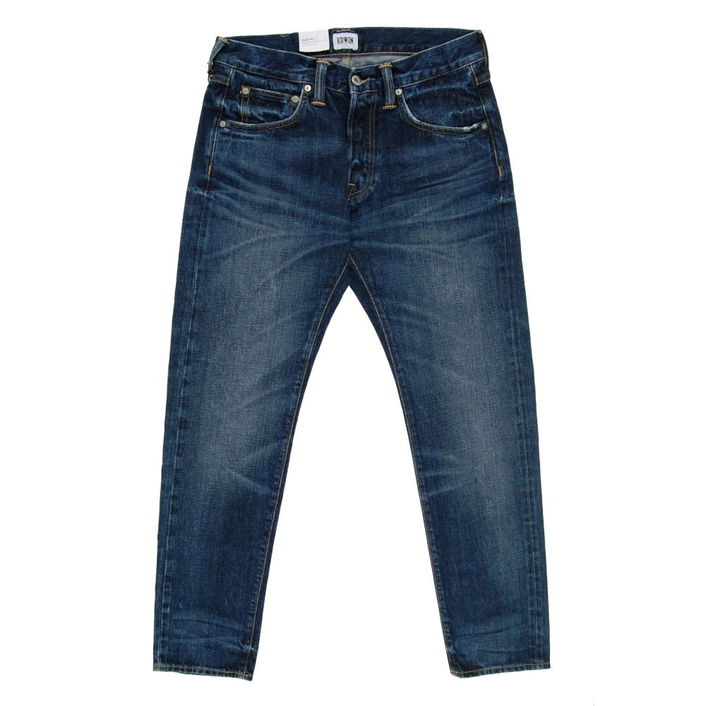 3789ffb0 Edwin ED-55 Jeans Red Selvedge Contrast Clean Wash 14oz - Mens ...