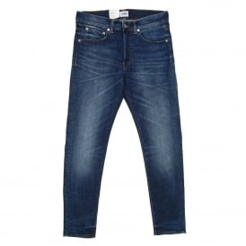 ED-80 Jeans CS Night Blue Contrast Clean Wash 11oz