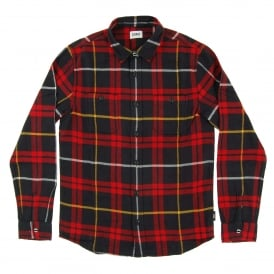 Labour Shirt Red Black Flannel Check