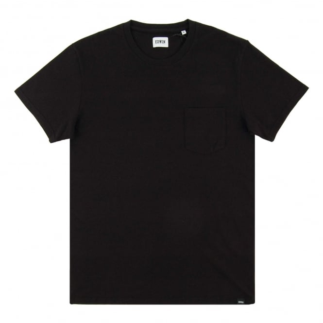 Edwin Pocket T-Shirt Black
