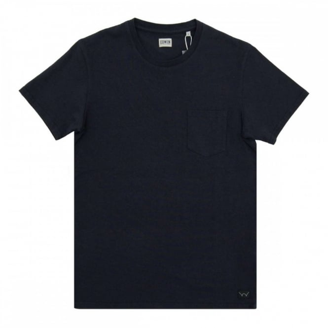 Edwin Pocket T-Shirt Navy