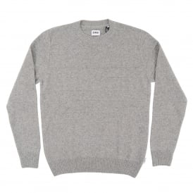 Standard Stripes Sweater Lambswool Light Grey Marl