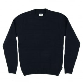 Standard Stripes Sweater Lambswool Navy