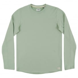 Terry Tee Long Sleeve Mint