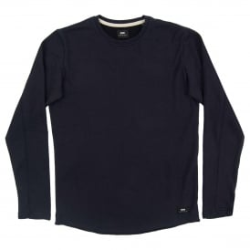 Terry Tee Long Sleeve Navy