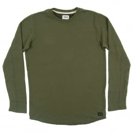 Terry Tee Long Sleeve Olive Drab