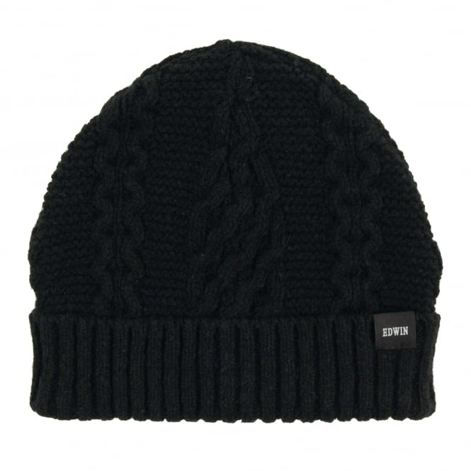 Edwin United Beanie Black