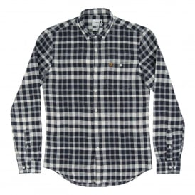 Anderton Check Shirt True Navy