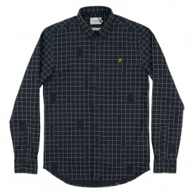 Barcombe Check Shirt True Navy
