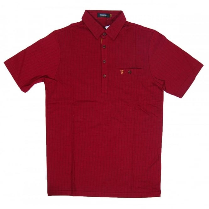Farah Barney Polo Poppy Red