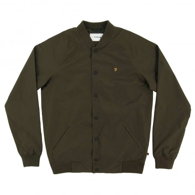 Farah Bellinger Bomber Jacket Evergreen