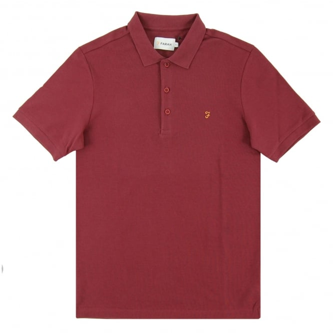 Farah Blaney Polo Aged Port