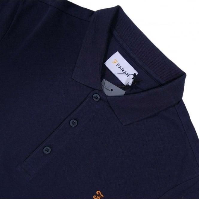 e22b566aa13 Farah Blaney SS Polo Navy - Mens Clothing from Attic Clothing UK