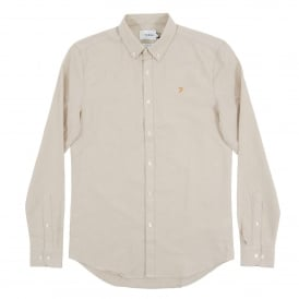 Brewer Oxford Shirt Almond
