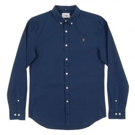 Brewer Oxford Shirt Atlantic