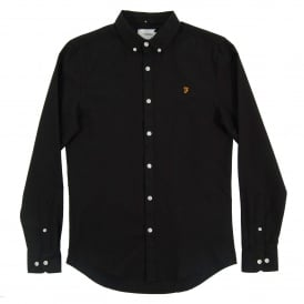 Brewer Oxford Shirt Black Ink