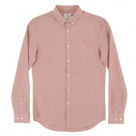 Brewer Oxford Shirt Currant