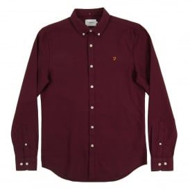 Brewer Oxford Shirt Damson
