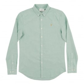 Brewer Oxford Shirt Pine Green