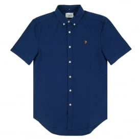 Brewer SS Oxford Shirt Regatta Blue