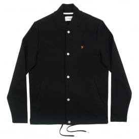 Charecroft Bomber Sweat Black