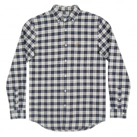 Coleville Check Shirt True Navy