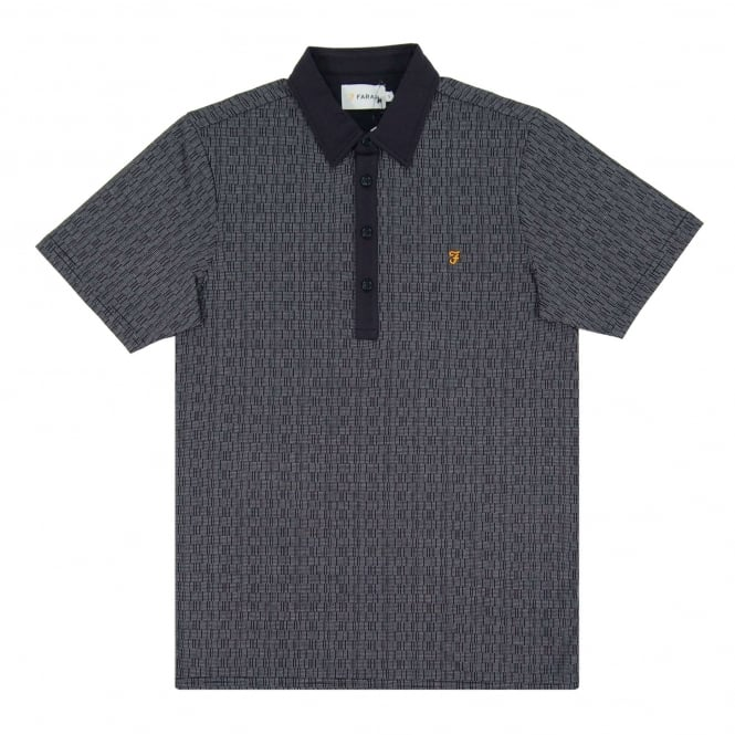 Farah Critchley Polo True Navy