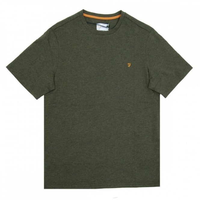 Farah Denny Marl T-Shirt Evergreen