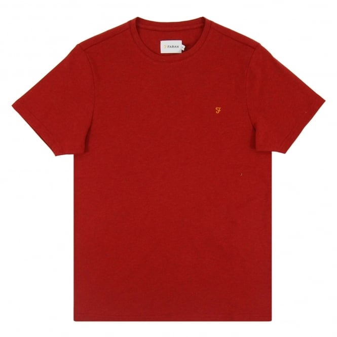 Farah Denny T-Shirt Washed Red