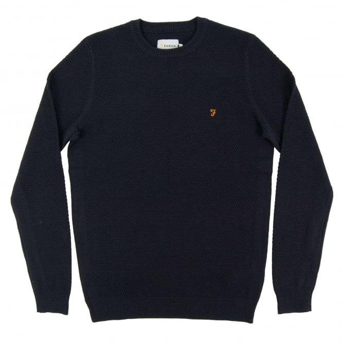 Farah Ealing Jumper True Navy