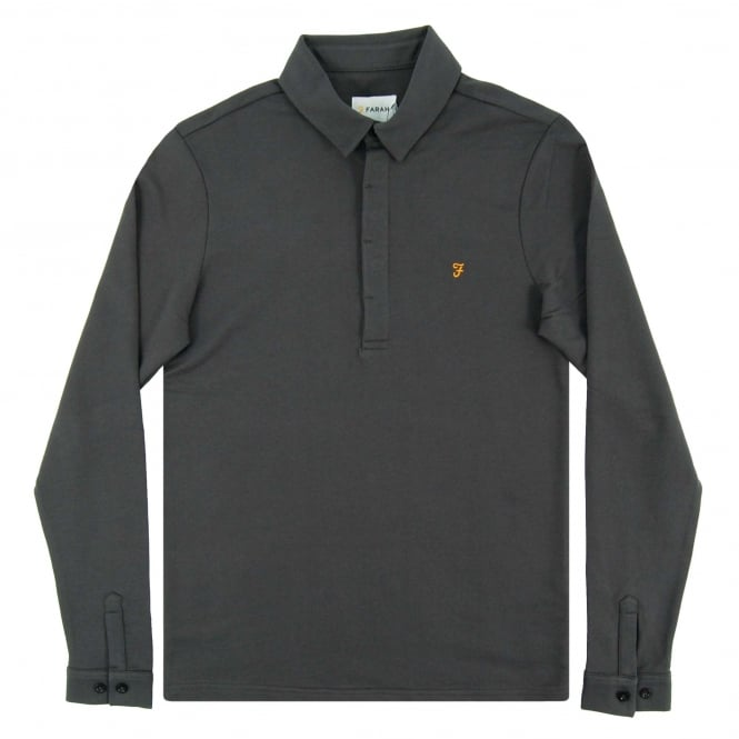 Farah Earlston LS Polo Asphalt