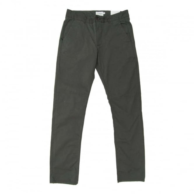 Farah Elm Twill Chinos Dark Grey Mens Clothing From Attic Clothing Uk