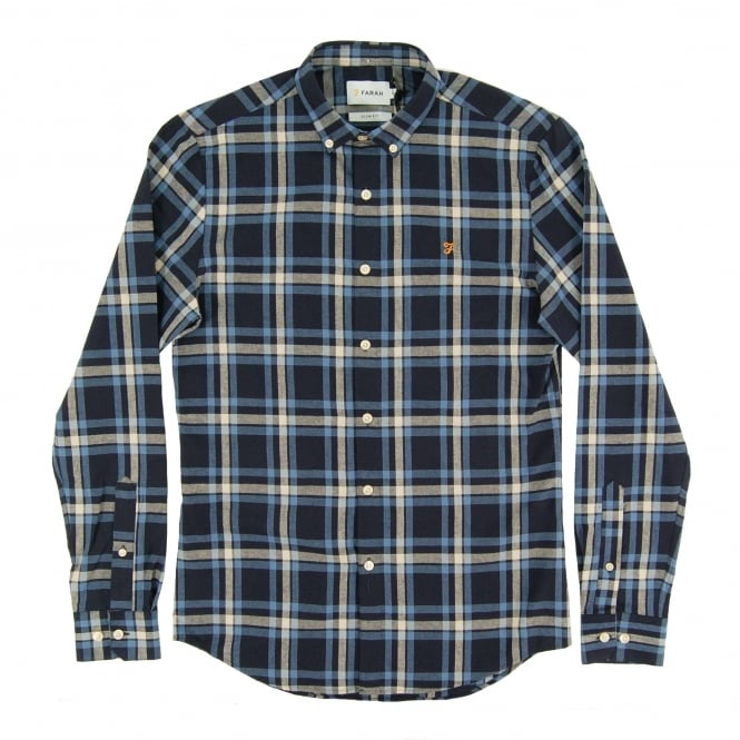 Farah Fal Check Flannel Shirt Yale