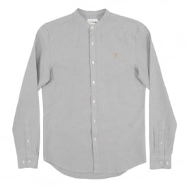 Grandad Brewer Oxford Shirt Anthracite