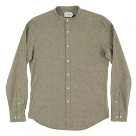Grandad Steen Shirt Military Green