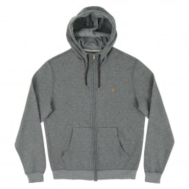 Hicks Zip Hoody Gravel Marl