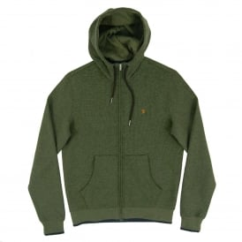 Hicks Zip Hoody Palm Marl