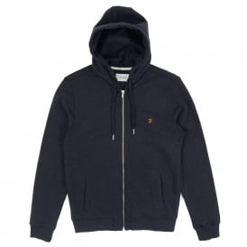 Kyle Zip Hoody True Navy Marl
