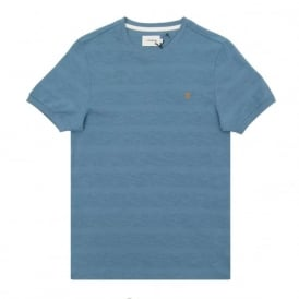 Langton Slub Stripe T-Shirt Seal