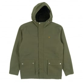 Lonsbury Hooded Jacket Military Green