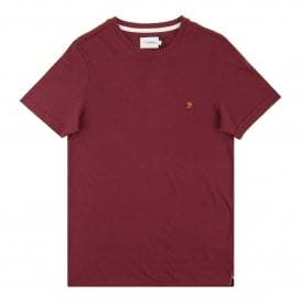 McKay Dot T-Shirt Aged Port