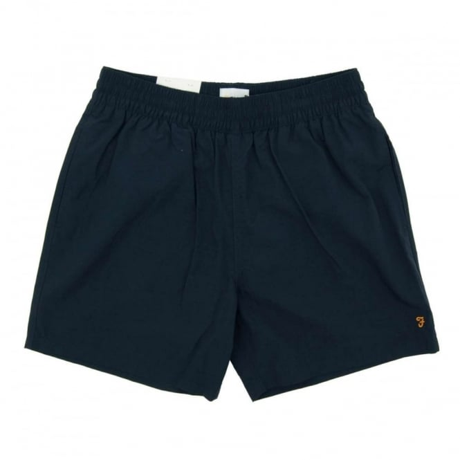 Farah Monroe Plain Swim Short True Navy