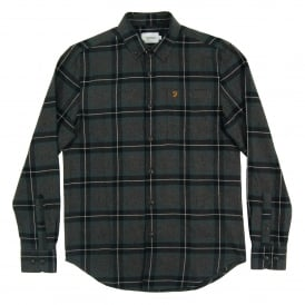 Rawsthorne Check Flannel Shirt Emerald
