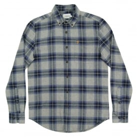 Rawsthorne Check Flannel Shirt Ultramarine
