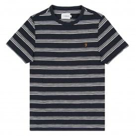 Regis Stripe T-Shirt True Navy